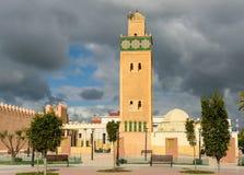 Mezquita del EL Ghamli de Sidi en Settat marruecos fotografía de archivo