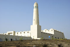 Mezquita del estado de Qatar Imagenes de archivo