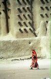 Mezquita del fango, Djenne, Malí foto de archivo