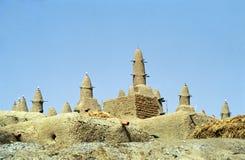 Mezquita del fango, Sirimou, Malí Imágenes de archivo libres de regalías