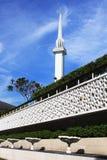 Mezquita del nacional de Malasia Foto de archivo libre de regalías