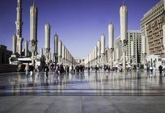 Mezquita del profeta Imagenes de archivo