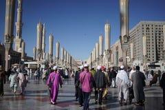 Mezquita del profeta Imagen de archivo libre de regalías