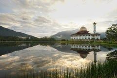Mezquita del Quran de Darul en Selangor Imagenes de archivo