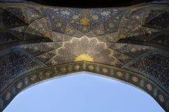 Mezquita del Sah Imagen de archivo libre de regalías