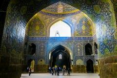 Mezquita 26 del Sah de Isfahán imagenes de archivo