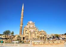 Mezquita del Sharm el-Sheikh en la ciudad vieja imágenes de archivo libres de regalías