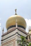 Mezquita del sultán Imagen de archivo libre de regalías