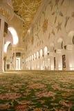Mezquita desde adentro Foto de archivo libre de regalías