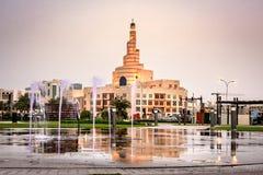 Mezquita Doha Qatar de Al Fanar imágenes de archivo libres de regalías