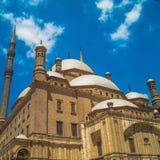 Mezquita El Cairo Egipto de Mohammed Ali imagen de archivo libre de regalías