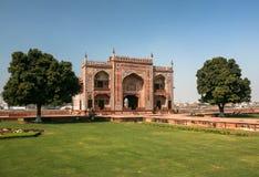 Mezquita en Agra, la India Fotografía de archivo