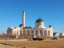 Mezquita en Aktau Imágenes de archivo libres de regalías