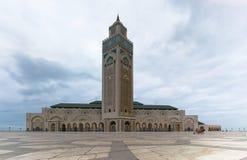 Mezquita en Casablanca Imagen de archivo libre de regalías