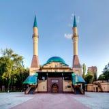 Mezquita en Donetsk, Ucrania. Foto de archivo