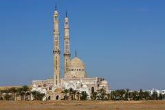 Mezquita en Egipto Foto de archivo libre de regalías