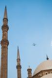 Mezquita en El Cairo Imágenes de archivo libres de regalías