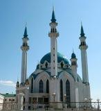 Mezquita en el Kazan Kremlin Imágenes de archivo libres de regalías