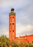 Mezquita en el pueblo de Ait Ben Haddou, Marruecos Foto de archivo