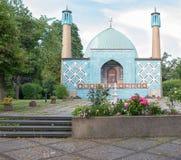 Mezquita en Hamburgo Imágenes de archivo libres de regalías