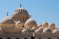 Mezquita en Hurghada foto de archivo