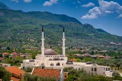 Mezquita en la barra, Montenegro fotografía de archivo