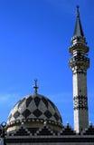 Mezquita en la ciudad de Amman fotos de archivo