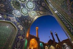 Mezquita en Qom imagen de archivo