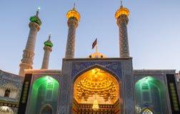 Mezquita en Qom fotos de archivo