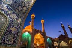 Mezquita en Qom fotografía de archivo