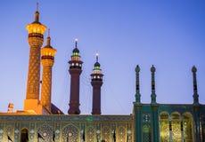 Mezquita en Qom imágenes de archivo libres de regalías