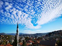 Mezquita en Sarajevo foto de archivo