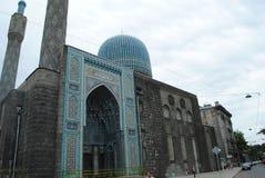 Mezquita en St Petersburg Imágenes de archivo libres de regalías