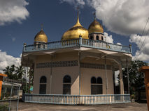 Mezquita en Tailandia foto de archivo libre de regalías