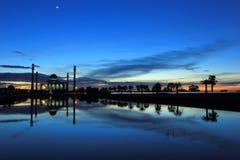 Mezquita en Tailandia Fotos de archivo libres de regalías