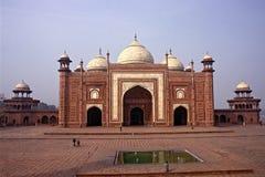 Mezquita en Taj Mahal Imagen de archivo libre de regalías