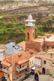 Mezquita en Tbilisi georgia Señal de la ciudad Religión Fotos de archivo libres de regalías