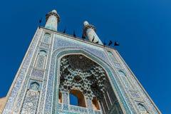 Mezquita en Yazd fotografía de archivo libre de regalías