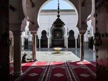 Mezquita Fes de Marruecos imagenes de archivo