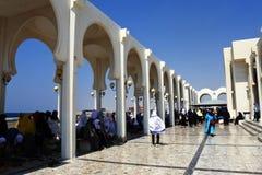 Mezquita flotante de Masjid AR-Rahmah, Mar Rojo Foto de archivo