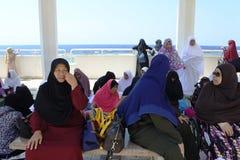 Mezquita flotante de Masjid AR-Rahmah, Mar Rojo Fotos de archivo libres de regalías