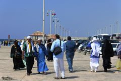 Mezquita flotante de Masjid AR-Rahmah, Mar Rojo Fotos de archivo