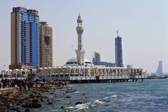 Mezquita flotante de Masjid AR-Rahmah, Mar Rojo Imágenes de archivo libres de regalías