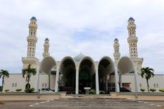 Mezquita flotante en Kota Kinabalu, Sabah Foto de archivo libre de regalías