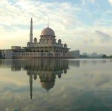 Mezquita flotante, Malasia Fotografía de archivo libre de regalías