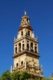 Mezquita-Glockenturm, Cordoba, Andalusien, Spanien. Lizenzfreies Stockbild