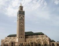 Mezquita Hassan II Fotos de archivo
