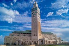 Mezquita Hassan II Casablanca Imagen de archivo