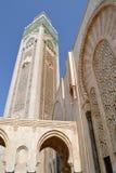 Mezquita Hassan II en Casablanca Fotografía de archivo