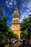 Mezquita hiszpańszczyzny dla meczetu cordoba w Andalucia, Hiszpania obraz stock